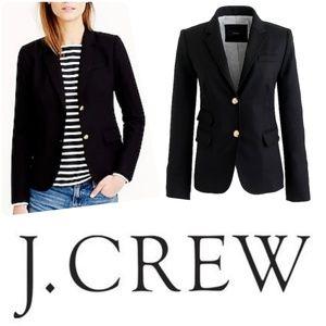 J. Crew | Black Schoolboy Blazer with Gold Buttons